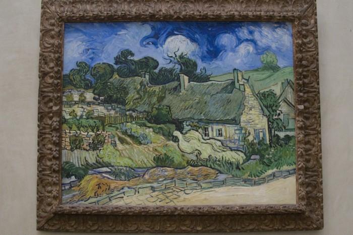 Maison à Cordeville by Vincent Van Gogh